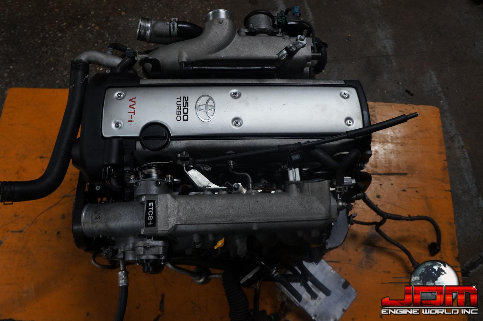 TOYOTA 1JZ-GTE VVTi 2.5L ETCS TURBO FRONT SUMP ENGINE JDM 1JZ