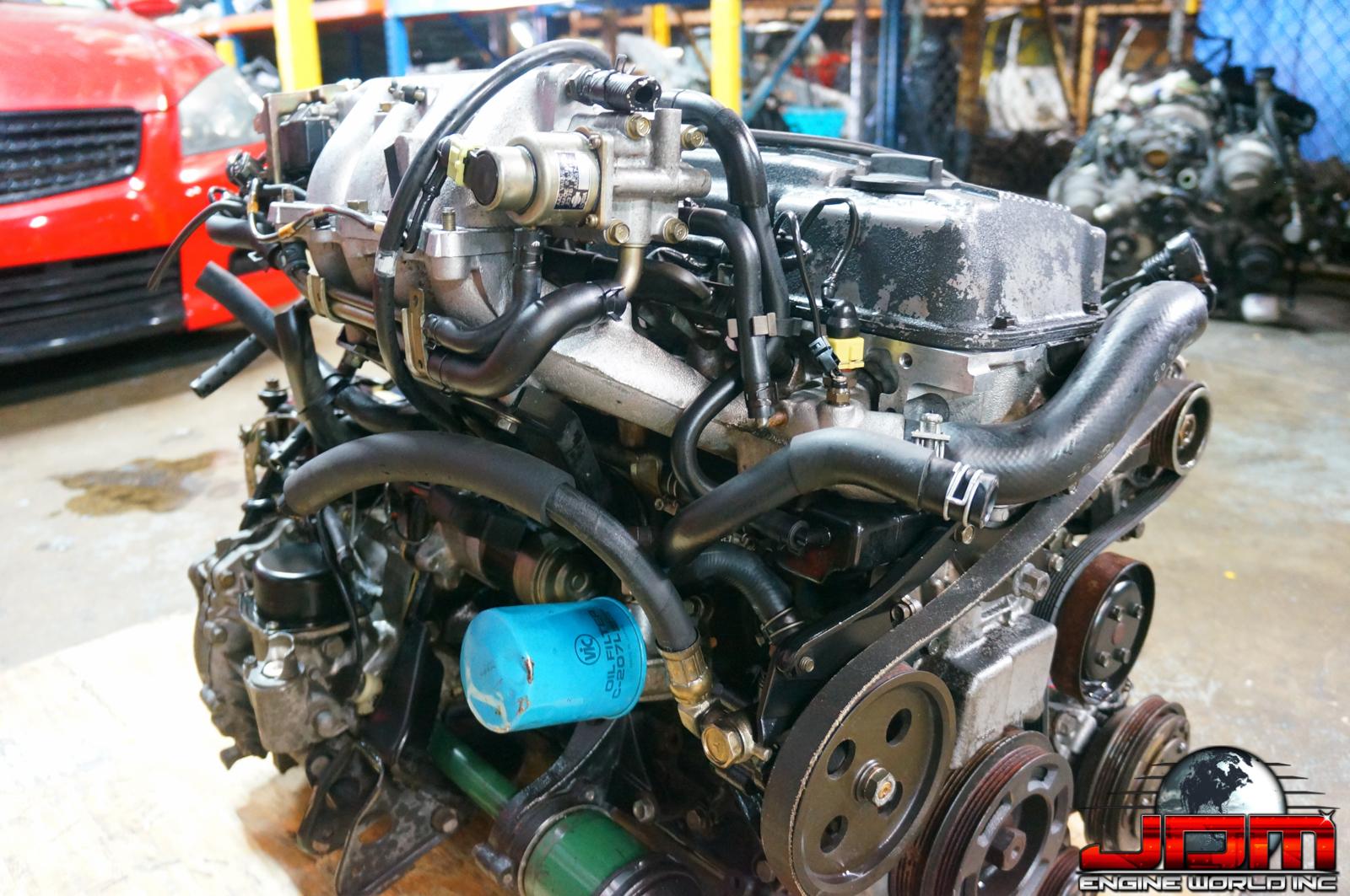 89-92 NISSAN STANZA KA24E ENGINE WITH AUTOMATIC TRANSMISSION U12 2.4L SOHC JDM KA24E