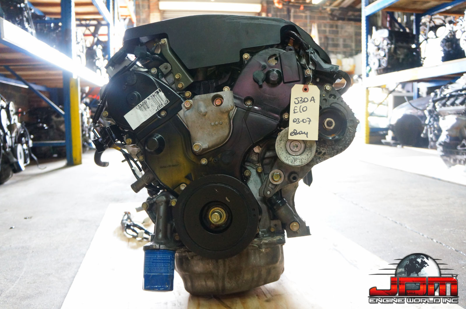 2005-2006 HONDA ODYSSEY EX-L/TOURING 3.0L VCM REPLACEMENT ENGINE FOR 3.5L (J35A7) JDM J30A ENGINE ONLY