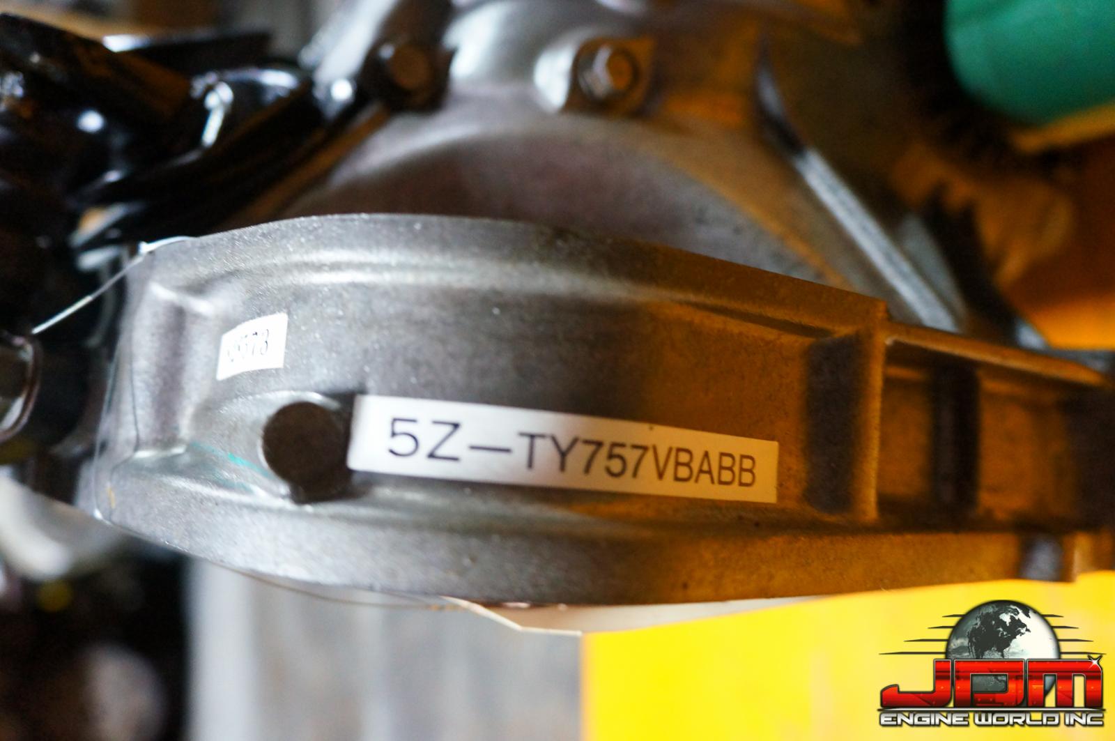JDM EJ20-T LEGACY SPEC B 4.44 MANUAL TRANSMISSION